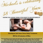 Michael's is celebrating 58 years JPEG