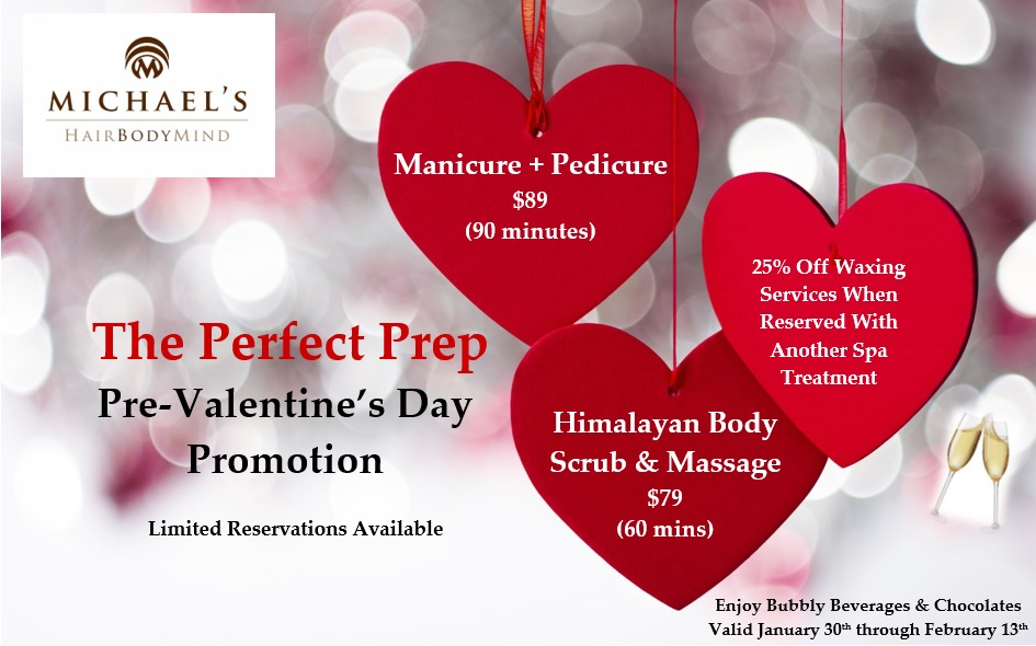 Are You Ready For Your Valentine Michael S Hair Body Mind