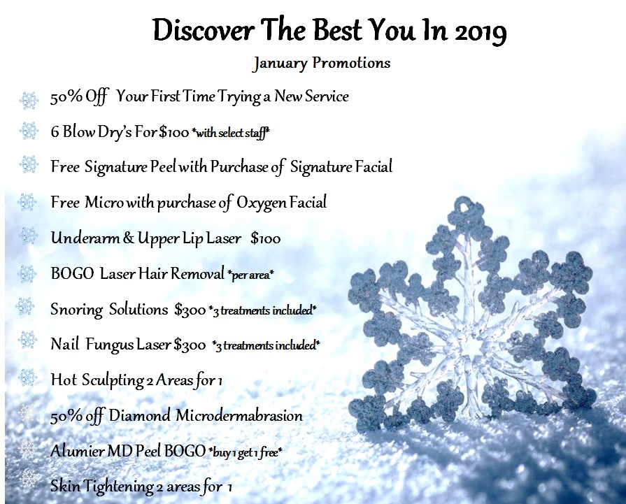 Discover New You in 2018 Promo